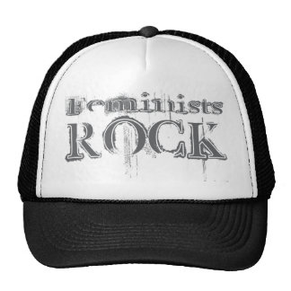 Feminists Rock Trucker Hat
