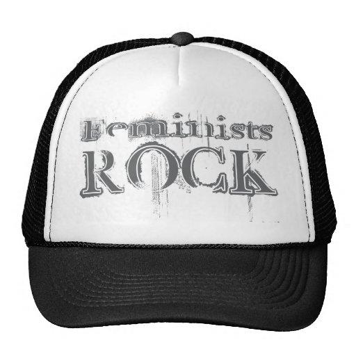 Feminists Rock Trucker Hat