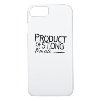 feminists Strong Female woman Girls Gift Case-Mate iPhone Case