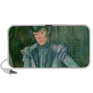 Femme dans le bleu 1900-02 haut-parleurs
