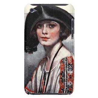Femme dans le chemisier brodé coque iPod Case-Mate