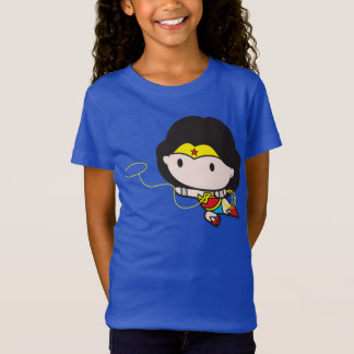 Femme de merveille bilatérale de Chibi T-Shirt
