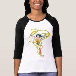 Femme de merveille dans le lasso t-shirts