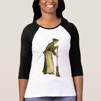 Femme de Van Gogh avec des beaux-arts de balai T Shirts