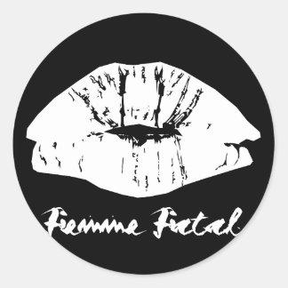 Femme Fatal Sticker