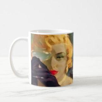 Femme Fatale ~ Classic White Coffee Mug