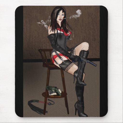 Femme Fatale - Dominatrix Mousepad