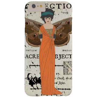 Femme Fatale Winged Woman Orange Dress Barely There iPhone 6 Plus Case