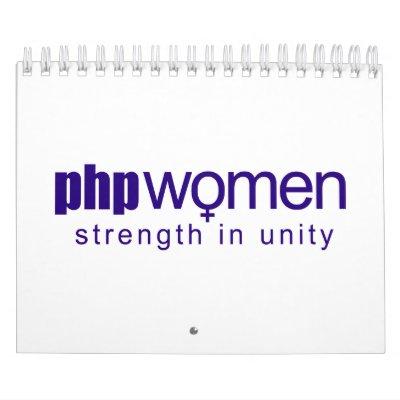 Femmes 2010 de PHP (petites) Calendriers Muraux