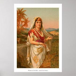 Femmes dans la bible - Sarah la princesse Poster