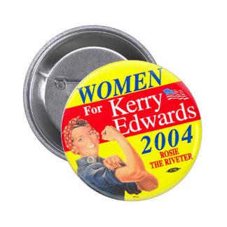 Femmes pour Kerry - bouton Macaron Rond 5 Cm