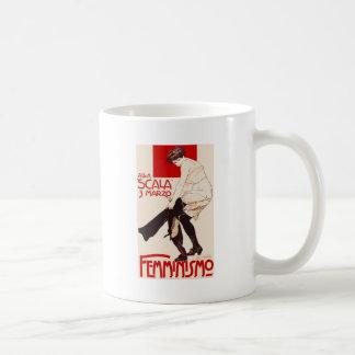 Femminismo Classic White Coffee Mug
