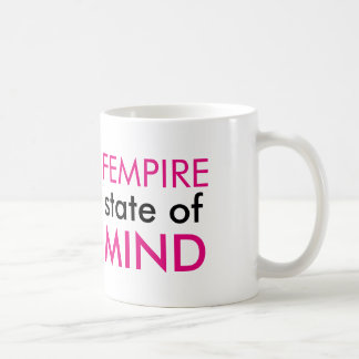Fempire state of mind mug