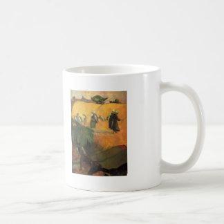 Fenaison de Paul Gauguin- Tasses
