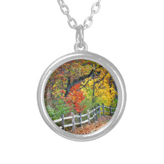 Fence in the Park Silver Plated Necklace