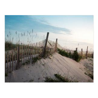 Fence on Myrtle Beach Postcard