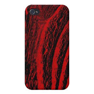 Fenceboard - rouge coque iPhone 4 et 4S