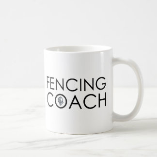 Fencing Coach Coffee Mug