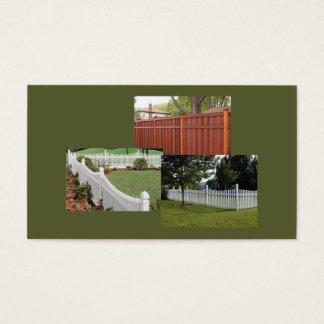 Fencing Company Business Card