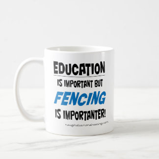 Fencing is importanter mug
