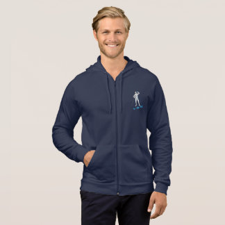 FENCING POST WORKOUT HUMOR HOODIE