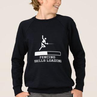 Fencing Skills Loading Sweatshirt