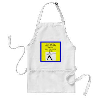 fencing standard apron