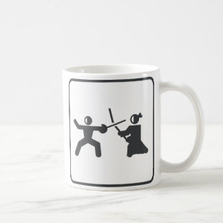 Fencing vs Kendo Coffee Mug