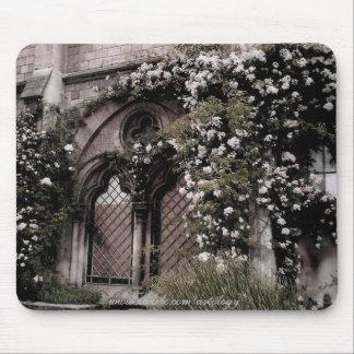 Fenêtre rose Mousepad Tapis De Souris