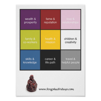 feng shui posters zazzle canada. Black Bedroom Furniture Sets. Home Design Ideas