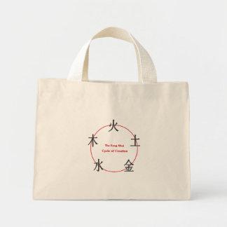 fengshui cycle floral bag