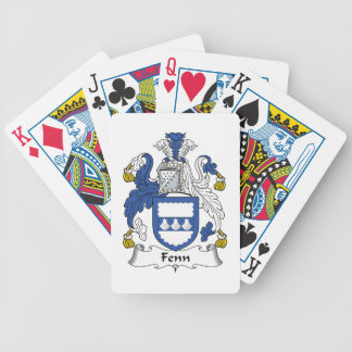 Fenn Family Crest Bicycle Playing Cards