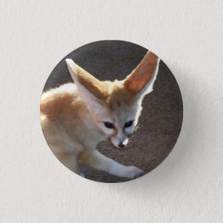 Fennec Fox 1 Inch Round Button