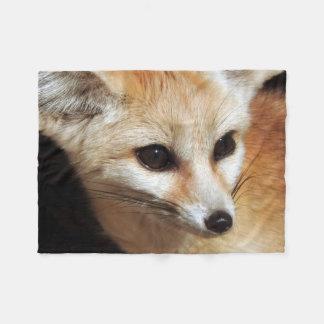 Fennec Fox Fleece Blanket