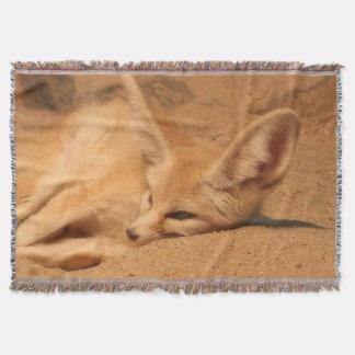 Fennec Fox Throw