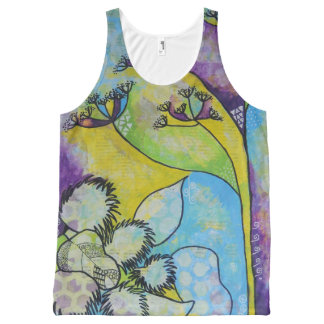 Fennel and Burdock Tank Top