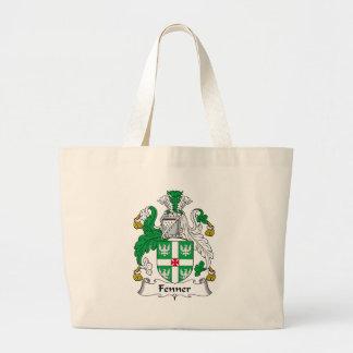 Fenner Family Crest Large Tote Bag
