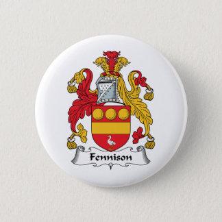Fennison Family Crest 2 Inch Round Button