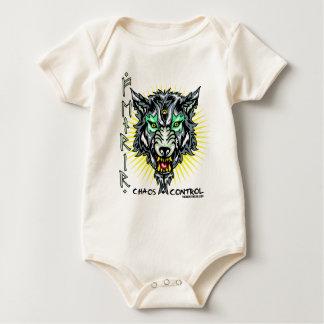 Fenrir said to be the son of Loki Baby Bodysuit