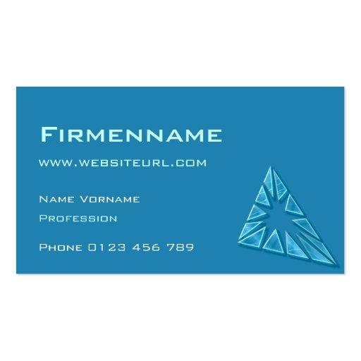 Fensterglass Business Card Templates