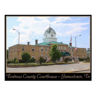 Fentress County Courthouse - Jamestown, TN Postcard