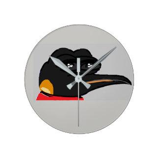 FEPE (Alt.) (Grey) Round Clock