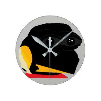FEPE (Grey) Round Clock