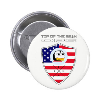 #FEPE - TIP OF THE BEAK OPS BADGE 2 INCH ROUND BUTTON