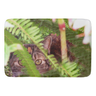 Feral Cat Animal Wildlife Kitty Bath Mat