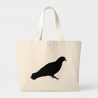 Feral Pigeon Large Tote Bag