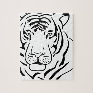 Feral Tiger Drawing Jigsaw Puzzle