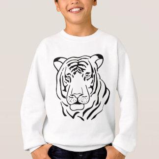 Feral Tiger Drawing Sweatshirt