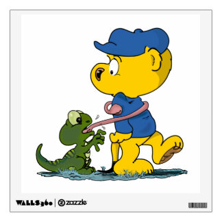 Ferald & The Baby Lizard Wall Decal