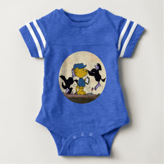 Ferald & The Pesky Crows Baby Bodysuit